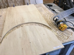 circle jig & router